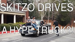 SKITZO DRIVES A HYPE TRUCK?!