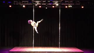 2018 US Pole Dance Championship Professional Division - Shay Williamson