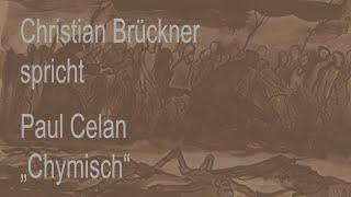 """Paul Celan – """"Chymisch"""""""