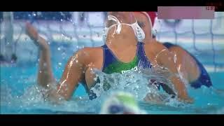 【水球女子】水中での激しい蹴り合いが恐ろしい・・・【格闘技】 水球女子 検索動画 5