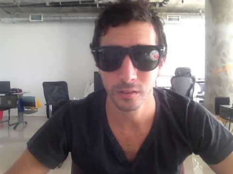 389b407a12 Ray-Ban RB4105 Folding Wayfarers Sunglasses Size Review - YouTube