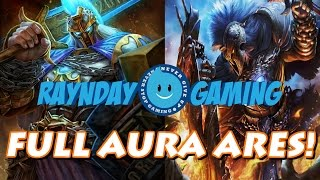 DARE ME! Full Aura Ares Build and Gameplay! (SMITE) - Season 3