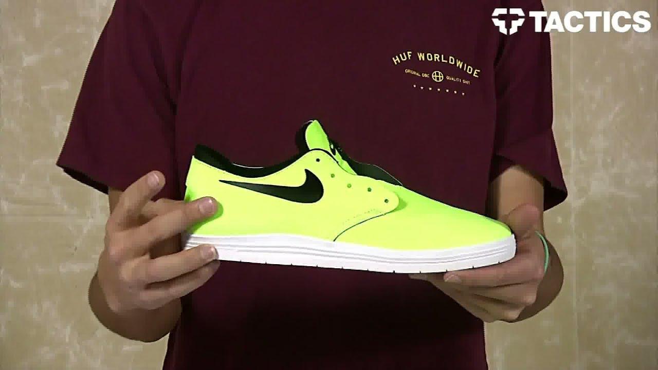sale retailer ce838 68f45 Nike SB Lunar One Shot SB Skate Shoes Review - Tactics.com