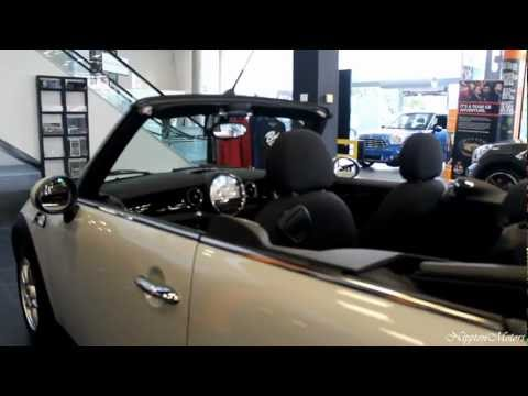 2013 Mini Cooper One Converible Exterior Review - In Detail (720p HD)