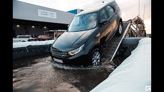 Jaguar Land Rover Experience Tour 2018