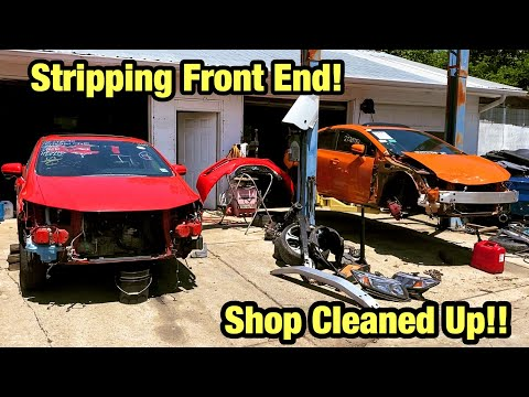 Rebuilding My Wrecked 2015 Si Childhood Dream Car Tearing It Apart