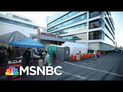 Rampant Covid-19 Crushing L.A. County Hospital Resources | Rachel Maddow | MSNBC