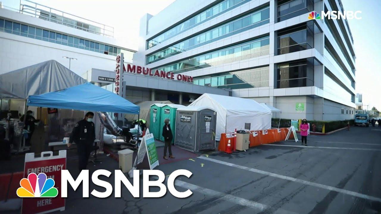 Rampant Covid-19 Crushing L.A. County Hospital Resources   Rachel Maddow   MSNBC – MSNBC