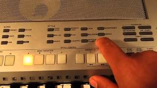видео Yamaha psr s500 руководство