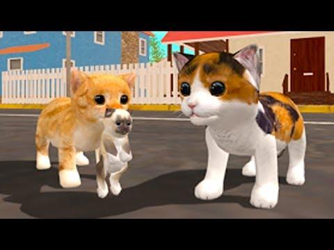 СИМУЛЯТОР Маленького КОТЕНКА #6 игра про котиков от Кида #ПУРУМЧАТА