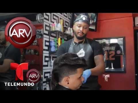 Recorte de cabello Flow Malaguetón de moda en República Dominicana | Al Rojo Vivo | Telemundo