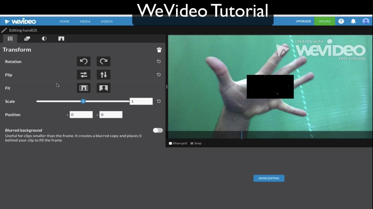 WeVideo Tutorial - Get started making videos in school