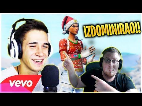 BALKANSKA PJESMA O FORTNITE-u!!! - Imperator FX - Fortnite (Official Music Video) *REAKCIJA*