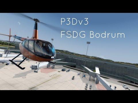 P3Dv3.4: FSDG Bodrum First Look In 4K