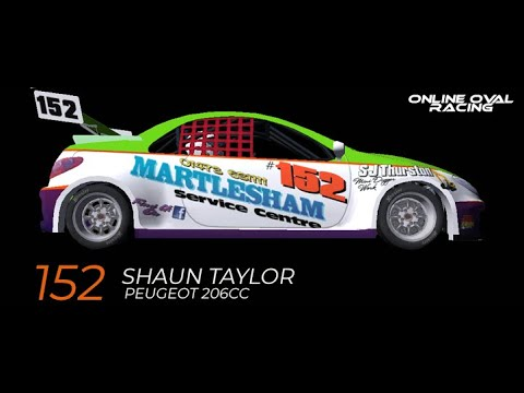 Online Oval Racing Round 1 Foxhall Stadium For The Uk National Hot Rods