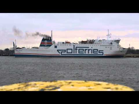 POLFERRIES - m/v Baltivia pływa na trasie Świnoujście - Ystad