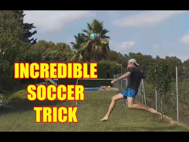 Incredible Soccer Trick Shot