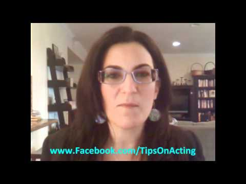 Auditioning Tip For Actors -- This May Seem Frivolous BUT...