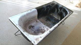 Ванна космос - Реставрация старой ванны своими руками