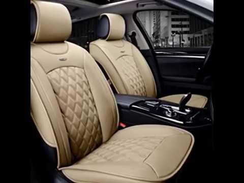 Vogvigo Universal Car Seat Covers Set Luxury Leather Youtube