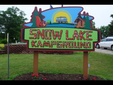 A review of Snow Lake Kampground near Ionia, Michigan.