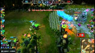 EG (Froggen Anivia) Vs Giants - Fan Made Highlights - EU LCS W6D2 2013