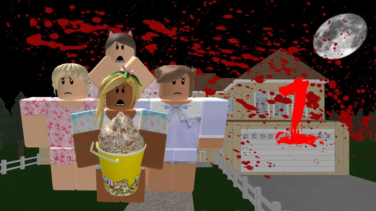 roblox horror series - sleepover - ep 1