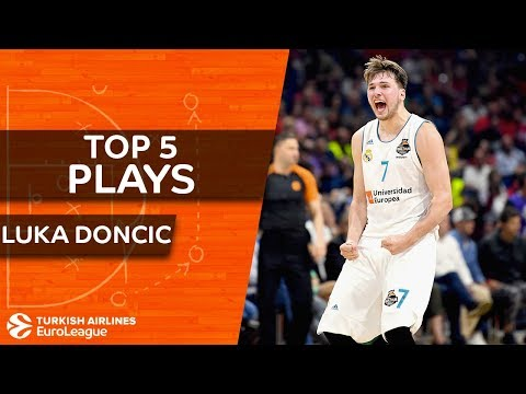 Top 5 plays, Luka Doncic, All-EuroLeague First Team