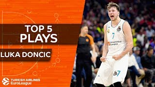 Top 5 plays, Luka Doncic, All-EuroLeague First Team