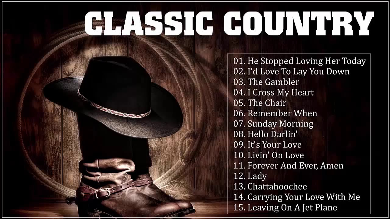 70s 80s Country Music Hits Playlist Greatest 1970 S 1980 S Country Songs Youtube