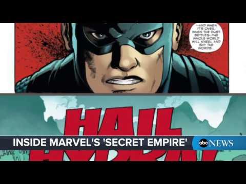 Marvel Comics' 'Secret Empire' storyline deals with Captain America as a Hydra agent