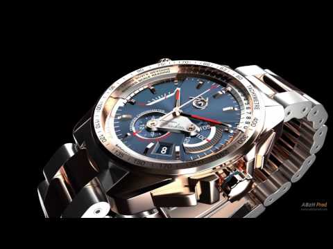 ABzHProd Luxury Watch Chronograph in 3D with Blender Tutorial