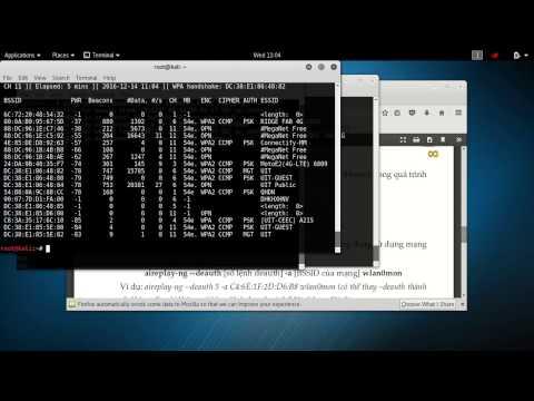 hướng dẫn hack pass wifi bằng backtrack 5 - Thực hành Crack WI-FI trên Kali Linux