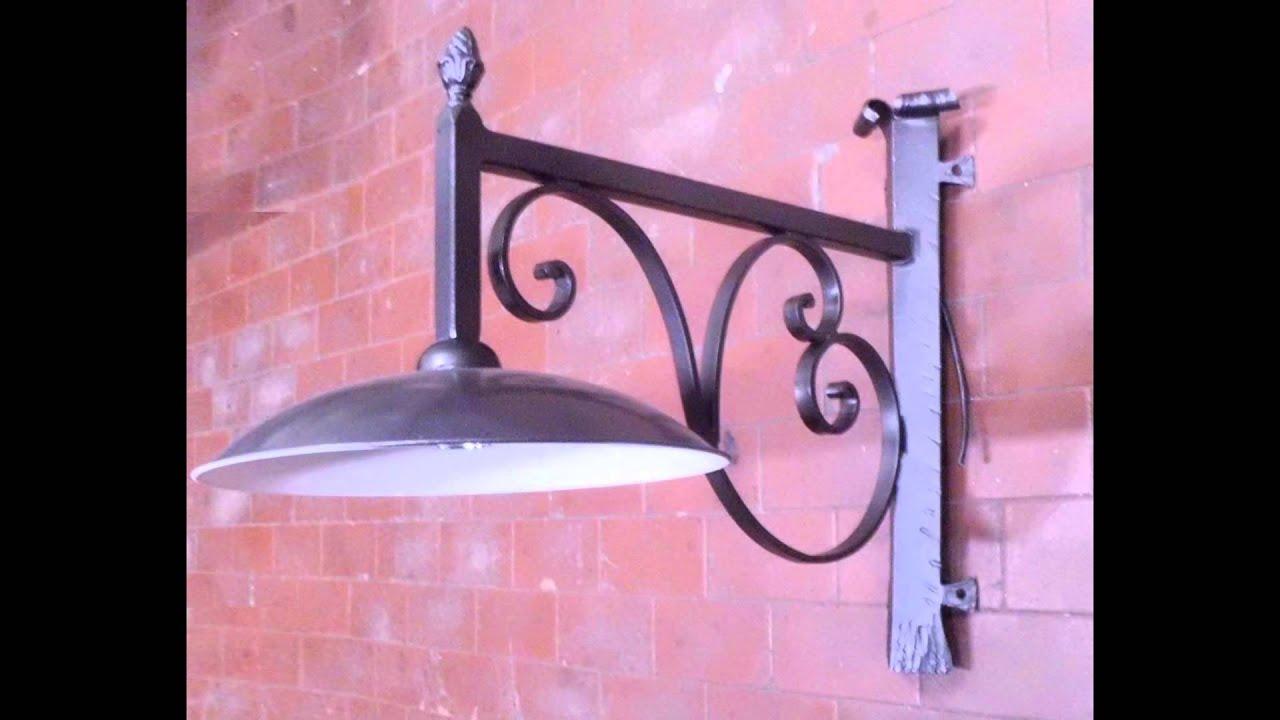 Lampione & lanterna . street lamp & lantern . martelli ferro battuto
