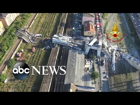 Death toll climbs in tourist bridge collapse in Italy