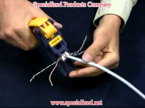 For Telephone Jack Wiring Diagram Fluke Networks Jackrapid Punch Down Tool Youtube