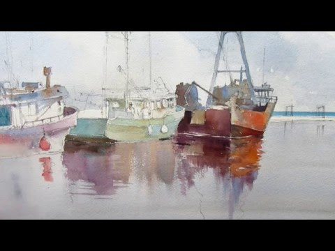 Fishing Boat Demo Painting