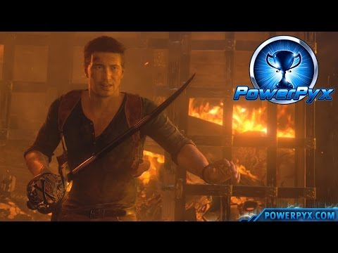 Uncharted 4: A Thief's End - Swordmaster Trophy Guide (Chapter 22)