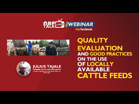 QUALITY EVALUATION AND GOOD PRACTICES ON THE USE OF LOCALLY AVAILABLE CATTLE FEEDS FINAL