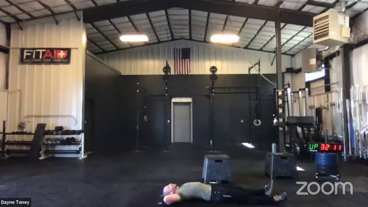 Saturday Live workout May 9th 2020