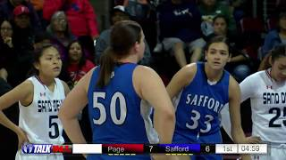 Safford vs Page Girls 3A State Basketball Quarerfinals Full Game thumbnail
