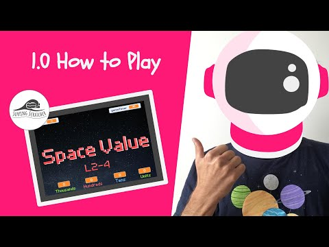 Scratch 3 Maths Project on Place Value Tutorial | 1.0 Space Value | How to play thumbnail