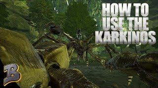 How To Tame And Use A Karkinos! (Aberration) Ark Survival Evolved Ep 11