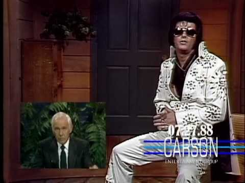 Elvis Presley Found Alive & Quizzed by Johnny Carson on