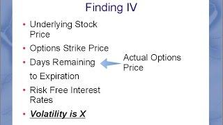 Implied Volatility The Double Edged Sword