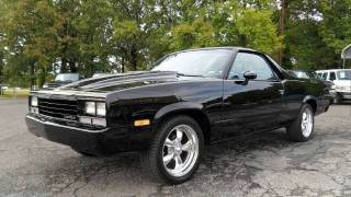 Video Short Takes: Restomod 1984 Chevrolet El Camino Conquista (Start Up, Exhaust, Full Tour) download MP3, 3GP, MP4, WEBM, AVI, FLV Agustus 2017