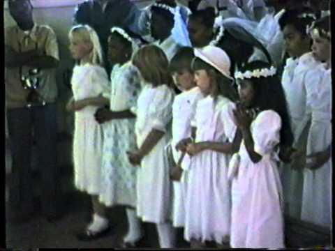 1987 Congo   Lubumbashi, Communion Julie Sylvie, VHS74/2, L' Hostie, By HabariSalam