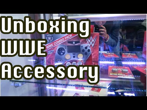 Exclusive unboxing - WWE Gaming Accessories from E3 2017