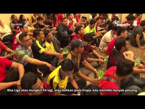 B SPORT - FA Cup Berlabuh ke London Utara, AIS Jakarta Berpesta