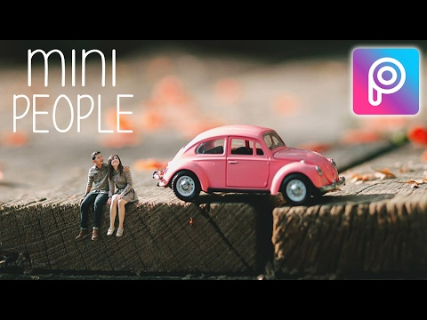 How to Make Miniature Photo in Picsart Android and iOS | Easy Tutorial